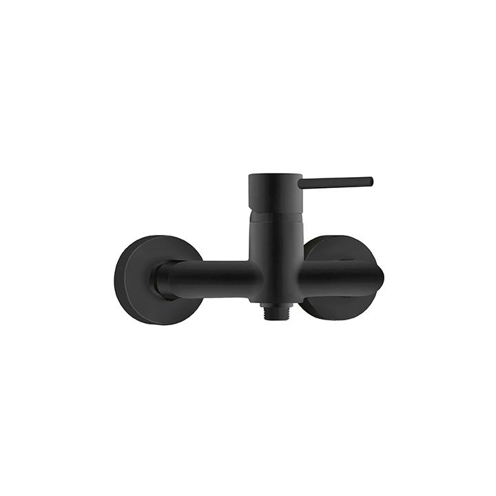 Grifo ducha negro 72ppp